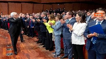 9 - Mattarella, Conte, Casellati e Fico ad Assemblea Confindustria