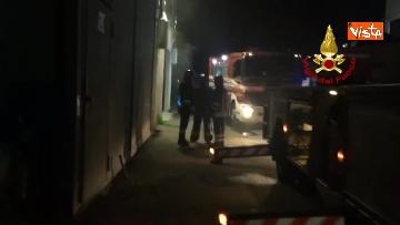 3 - Incendio a San Donato Milanese