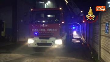 1 - Incendio a San Donato Milanese
