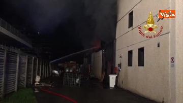 4 - Incendio a San Donato Milanese