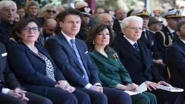 7 - Mattarella alla cerimonia commemorativa del 75° anniversario dell'eccidio delle Fosse Ardeatine