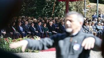 9 - Mattarella alla cerimonia commemorativa del 75° anniversario dell'eccidio delle Fosse Ardeatine