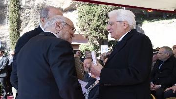 6 - Mattarella alla cerimonia commemorativa del 75° anniversario dell'eccidio delle Fosse Ardeatine
