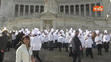 3 - 50 anni della Federazione Italiana Cuochi, gli chef al Vittoriano e al Colosseo