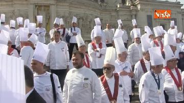 2 - 50 anni della Federazione Italiana Cuochi, gli chef al Vittoriano e al Colosseo