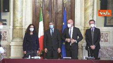 11 -  Accordo tra Camera e Crui per tirocini studenti a Montecitorio. Le immagini della firma di Fico