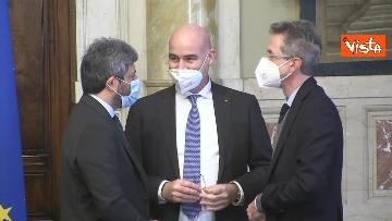 9 -  Accordo tra Camera e Crui per tirocini studenti a Montecitorio. Le immagini della firma di Fico