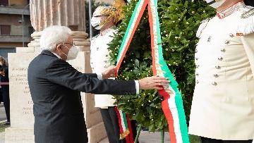5 - 77° anniversario della Difesa di Roma, Mattarella a Porta San Paolo e al Parco della Resistenza
