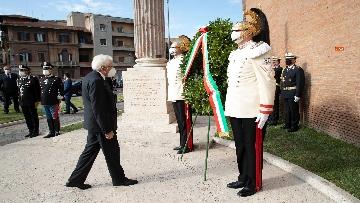 4 - 77° anniversario della Difesa di Roma, Mattarella a Porta San Paolo e al Parco della Resistenza