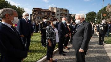 7 - 77° anniversario della Difesa di Roma, Mattarella a Porta San Paolo e al Parco della Resistenza