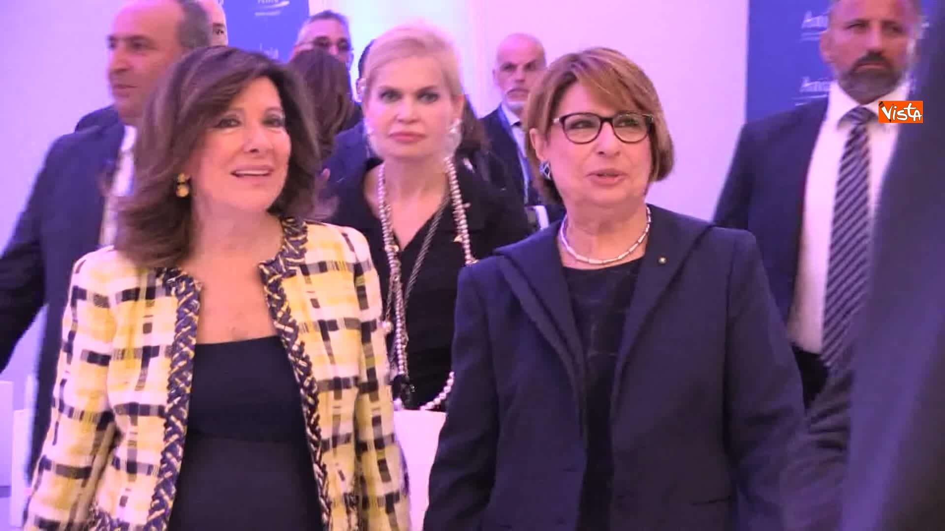 10-07-19 Ania l Assemblea con Conte Mattarella e la presidente Farina_La presidente Farina con la presidente del Senato Elisabetta Casellati 07