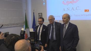 """2 - Bonafede partecipa alla conferenza """"Dove e' finita la corruzione?"""" all'Anac"""