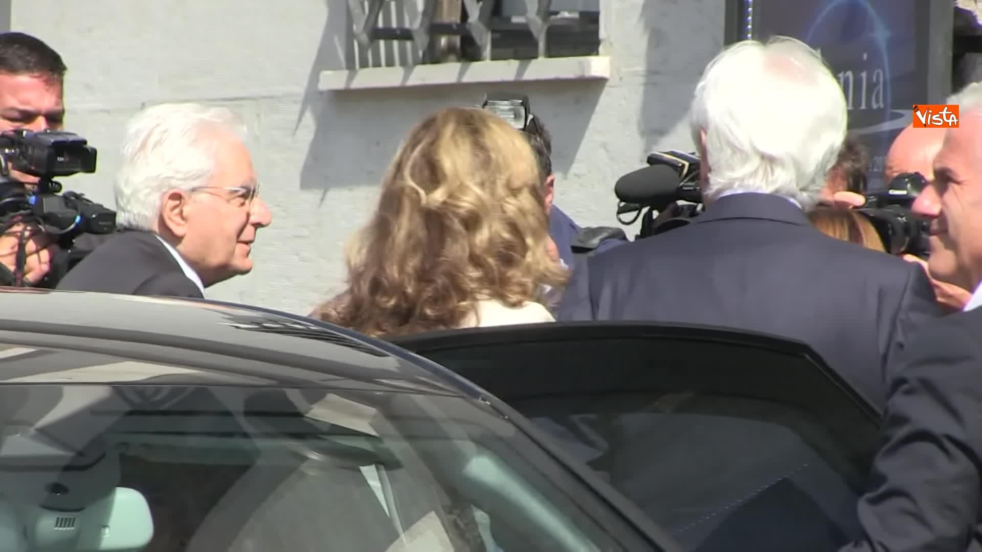10-07-19 Ania l Assemblea con Conte Mattarella e la presidente Farina_L arrivo del Presidente della Repubblica Sergio Mattarella 08
