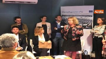 1 - #StavoltaVoto la campagna per sensibilizzare al voto per le elezioni europee, la presentazione alla Festa del Cinema di Roma