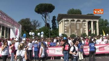 8 - Raggi e Zingaretti alla Race for the Cure a Roma