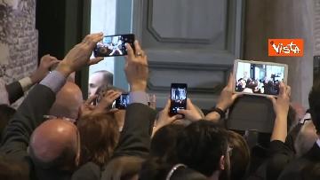 7 - Papa Francesco in Campidoglio, l'intervento in Aula Giulio Cesare