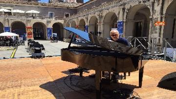 11 - Cracking Danilo Rea, tutto pronto per il concerto a Palazzo della Cultura di Catania per Innovation days Anas