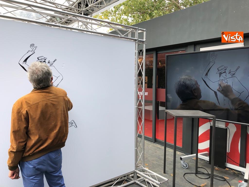 27-10-18 StavoltaVoto la campagna per sensibilizzare alvoto per le elezioni europee la presentazione -  Il fumettista Sergio Carpinteri 1
