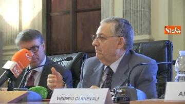 4 - Presentato rapporto su Whistleblowing con Cantone, Pignatone e Bonisoli