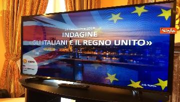 8 - Gli italiani e il Regno Unito, l'indagine con l'ambasciatrice britannica Jill Morris, immagini