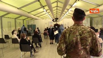 10 - Vaccinazioni in Lombardia, Guerini e Fontana all'inaugurazione del nuovo hub di Varese. Le immagini