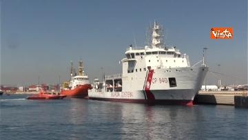 7 - Aquarius, Dattilo e Orione sono attraccate al porto di Valencia, finita l'Odissea per 629 migranti