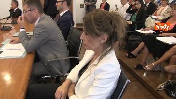 3 - Ministro Affari Regionali Stefani al primo incontro con la Conferenza Regioni immagini