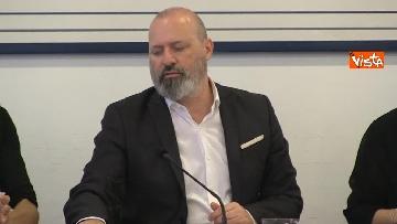 5 - Ministro Affari Regionali Stefani al primo incontro con la Conferenza Regioni immagini
