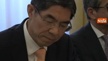 4 - Tria alla firma del Memorandum d'intesa fra le amministrazioni doganale italiana e cinese