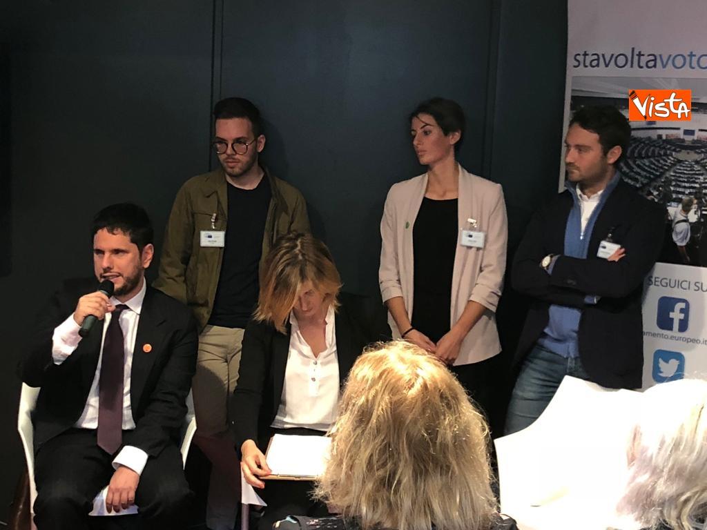 27-10-18 StavoltaVoto la campagna per sensibilizzare alvoto per le elezioni europee la presentazione -  Maurizio Molinari (comunicazione del parlamento Ue a Roma)