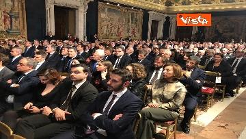 8 - Mattarella augura Buon Natale e felice anno nuovo ai rappresentanti di istituzioni e politica