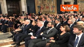 7 - Mattarella augura Buon Natale e felice anno nuovo ai rappresentanti di istituzioni e politica