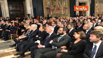 9 - Mattarella augura Buon Natale e felice anno nuovo ai rappresentanti di istituzioni e politica