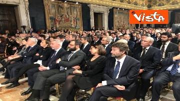 4 - Mattarella augura Buon Natale e felice anno nuovo ai rappresentanti di istituzioni e politica