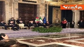 2 - Mattarella augura Buon Natale e felice anno nuovo ai rappresentanti di istituzioni e politica
