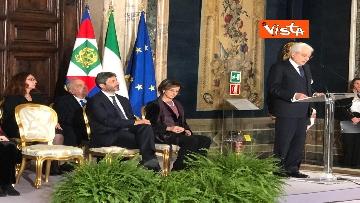 11 - Mattarella augura Buon Natale e felice anno nuovo ai rappresentanti di istituzioni e politica