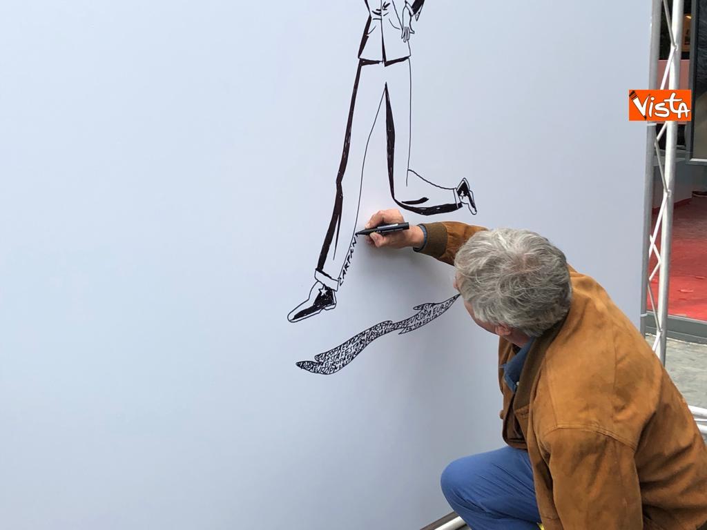 27-10-18 StavoltaVoto la campagna per sensibilizzare alvoto per le elezioni europee la presentazione - Il fumettista Sergio Carpinteri 3