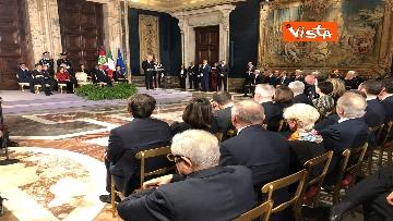 1 - Mattarella augura Buon Natale e felice anno nuovo ai rappresentanti di istituzioni e politica