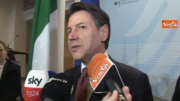 7 - Libia, Merkel accoglie Conte e Di Maio alla Conferenza di Berlino
