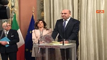 6 - Casellati incontra l'Associazione stampa parlamentare per auguri di Natale