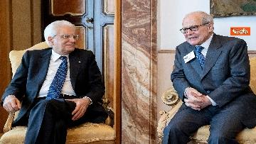 1 - Mattarella alla riunione annuale dei Presidenti e Segretari Generali dei Cnel europei