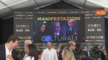 3 - Meloni chiude la manifestazione Atreju a Roma