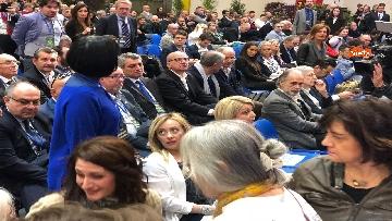 4 - Il candidato del centrodestra in Piemonte Alberto Cirio partecipa al congresso FdI