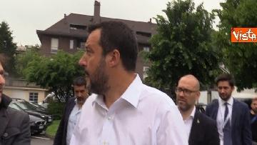 2 - Salvini in conferenza stampa dopo i risultati delle elezioni europee
