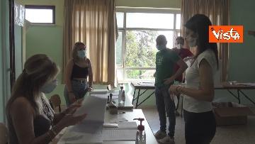 10 - Referendum, il voto della sindaca di Roma Virginia Raggi. Le foto
