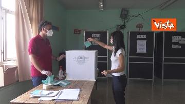 3 - Referendum, il voto della sindaca di Roma Virginia Raggi. Le foto