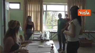 9 - Referendum, il voto della sindaca di Roma Virginia Raggi. Le foto