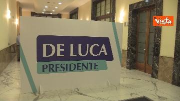 1 - De Luca rieletto presidente della Campania, le foto dal comitato elettorale