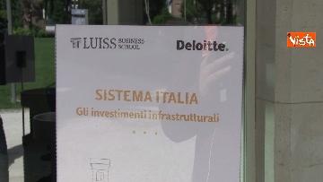 7 - Sistema Italia, gli investimenti infrastrutturali: il convegno di Deloitte alla Luiss