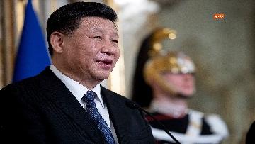 17 - Il Presidente della Repubblica cinese Xi Jinping al Quirinale